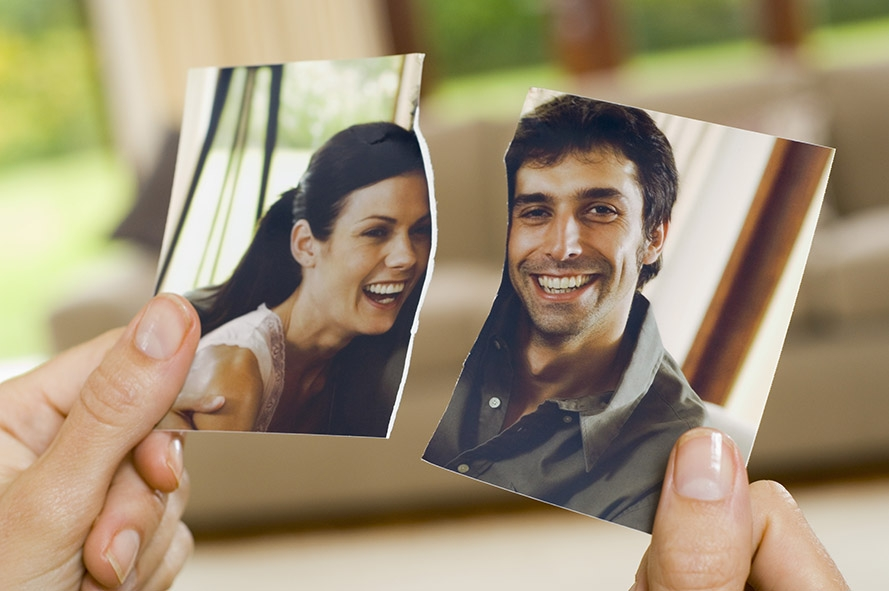 Муж радуется разводу