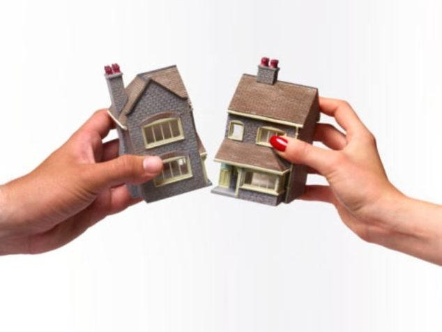 Разделение квартиры при разводе