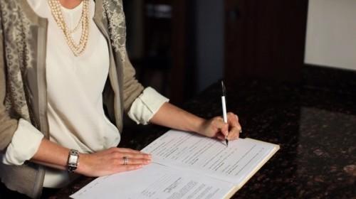 Подготовка заявления на развод