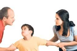Развод с маленьким ребенком