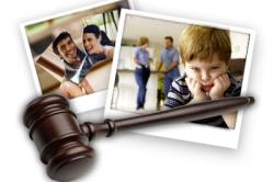 Отношения после развода с детьми