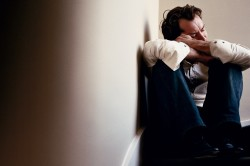 Депрессия мужчины