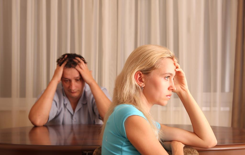 Эмоции при разводе