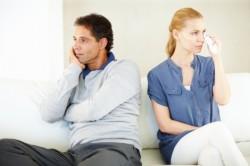 Грусть при разводе