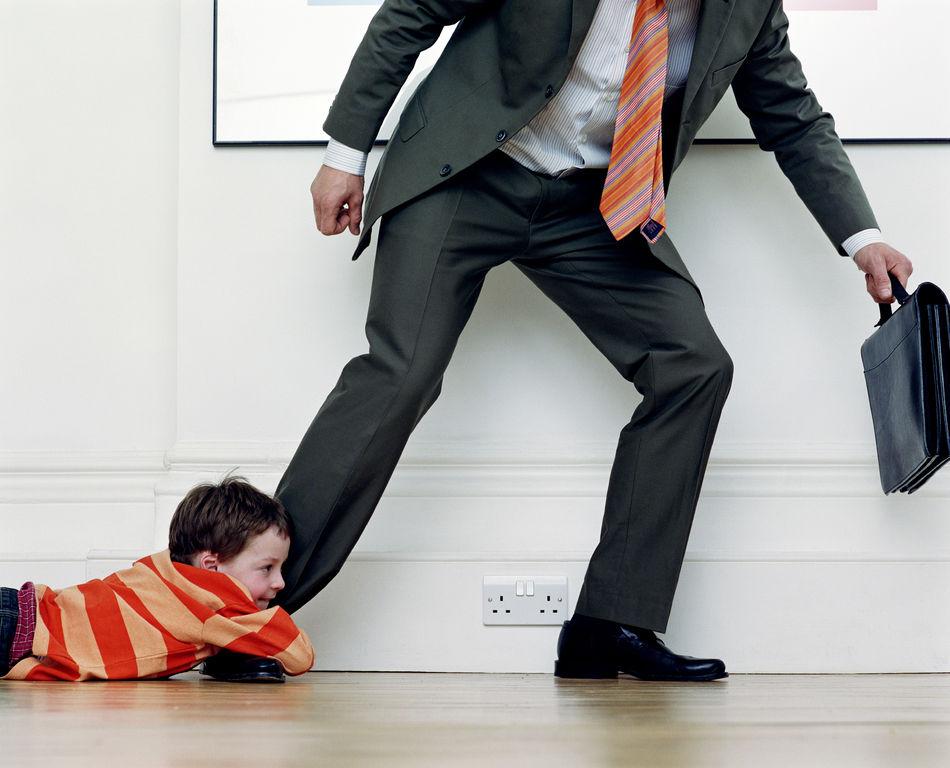 Уход отца из семьи