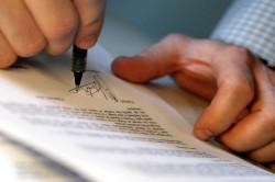 Подача документов в органы РАГС для развода