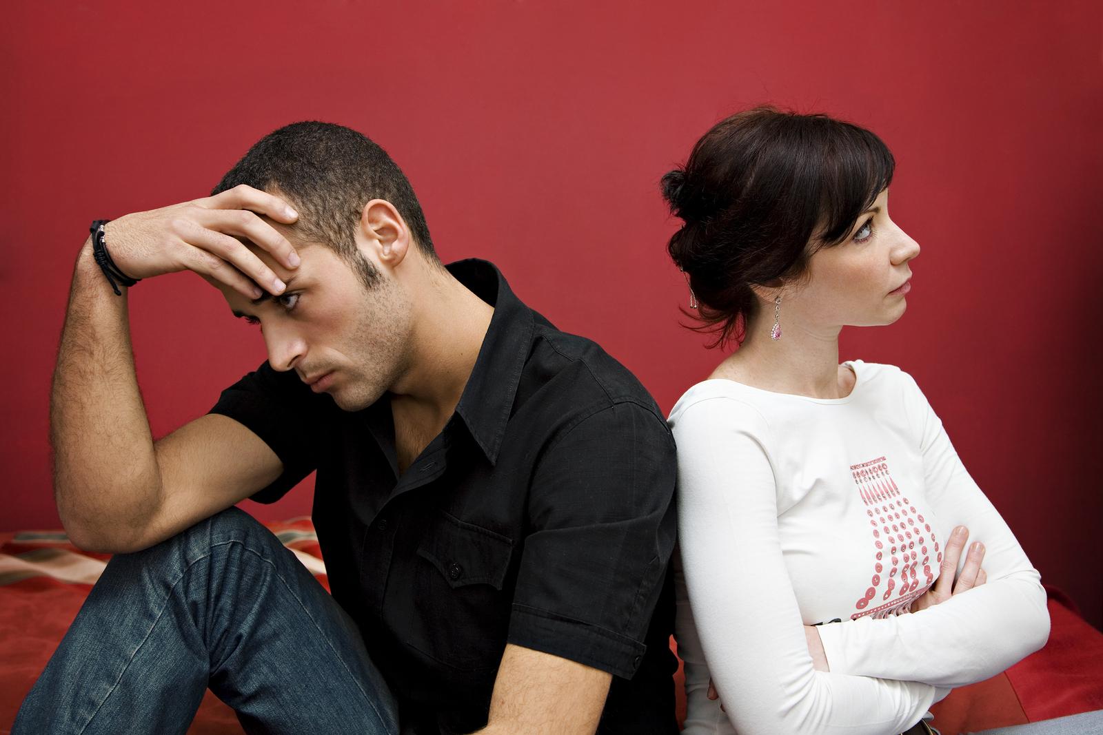 очевидно, развод из-за ревности жены таком