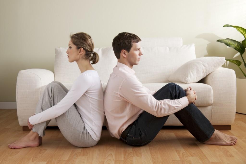 Супружеская пара на грани развода