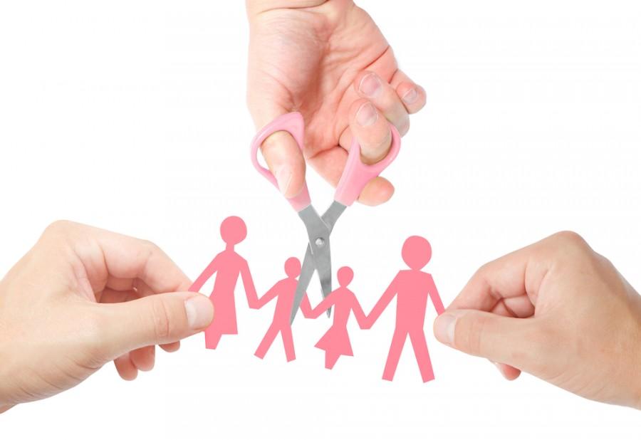 Развод в семье