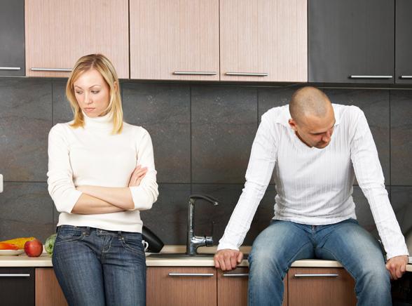 Развод семейной пары
